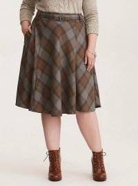 Outlander Tartan Skirt at Torrid