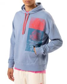 Ovadia Rose-Print Pullover Hoodie at Neiman Marcus
