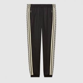 Oversize Technical Jersey Jogging Pant at Gucci