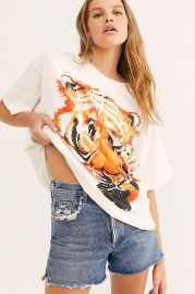 Oversized Tiger Tee by Wrangler at Free People