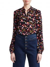 Owens Silk Floral Shirt at Saks Fifth Avenue
