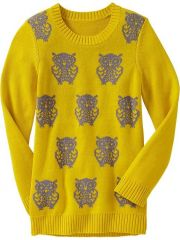 Owl Sweater at Old Navy