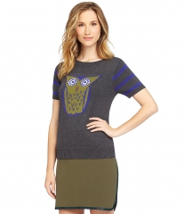 Owl sweater by Cremieux at Dillards