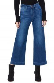 PAIGE Anessa High Waist Crop Wide Leg Jeans  Big Bear    Nordstrom at Nordstrom