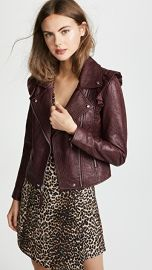 PAIGE Annika Leather Jacket at Shopbop