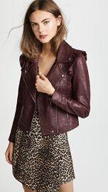 PAIGE Annika Leather Jacket at Shopbop