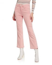 PAIGE Atley Ankle Flare-Leg Jeans at Neiman Marcus