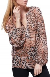 PAIGE Beretta Animal Print Top   Nordstrom at Nordstrom