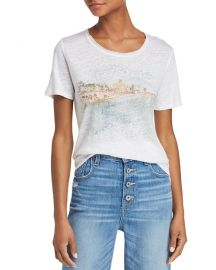 PAIGE CASSANDRA GRAPHIC TEE at Bloomingdales