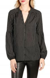 PAIGE Emilia Pinstripe Top at Nordstrom