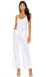 PAIGE Emma Jumpsuit in Crisp White from Revolve com at Revolve