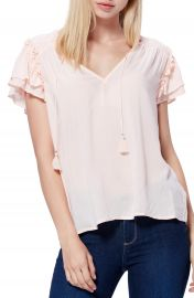 PAIGE Laramie Ruffle Blouse   Nordstrom at Nordstrom