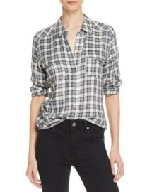 PAIGE Mya Plaid Shirt at Bloomingdales