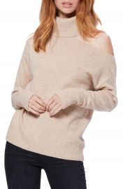 PAIGE Raundi Cutout Shoulder Sweater   Nordstrom at Nordstrom
