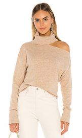 PAIGE Raundi Sweater in Camel from Revolve com at Revolve