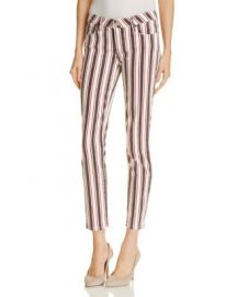 PAIGE Verdugo Skinny Ankle Jeans in Emerson Stripe at Bloomingdales
