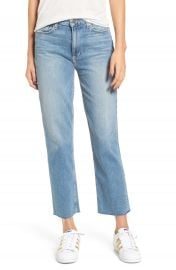 PAIGE Vintage - Sarah High Waist Crop Straight Leg Jeans  Jona at Nordstrom
