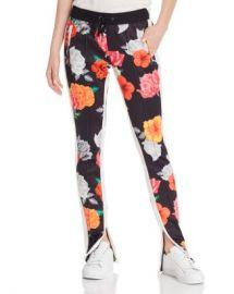 PAM  amp  GELA Floral-Print Track Pants Women - Bloomingdale s at Bloomingdales