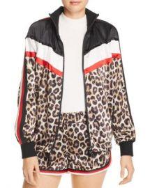 PAM  amp  GELA Leopard  amp  Color-Block Jacket Women - Bloomingdale s at Bloomingdales