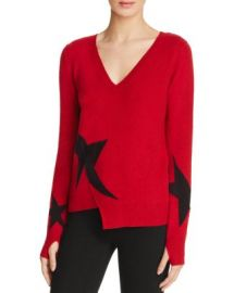PAM  amp  GELA Star Intarsia Sweater at Bloomingdales