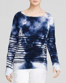 PAM andamp GELA Sweatshirt - Annie Stripe Tie Dye at Bloomingdales