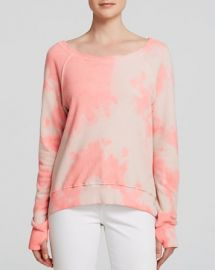 PAM andamp GELA Sweatshirt - Annie Tie-Dye HighLow at Bloomingdales