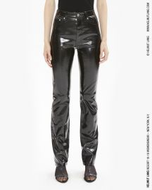 PATENT LEATHER FIVE POCKET PANT at Helmut Lang