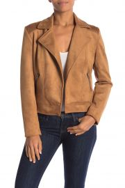 PHILOSOPHY APPAREL | FAUX SUEDE MOTO JACKET at Nordstrom Rack