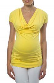 PIETRO BRUNELLI Ginestra Cowl Neck MaternityNursing Tunic at Nordstrom