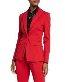 PINKO Notch-Lapel Single-Button Blazer at Neiman Marcus