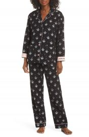 PJ Salvage Print Flannel Pajamas   Nordstrom at Nordstrom