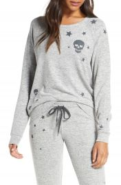 PJ Salvage Stars  amp  Skulls Pajama Top   Nordstrom at Nordstrom