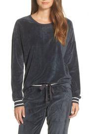PJ Salvage Velour Pajama Top at Nordstrom Rack