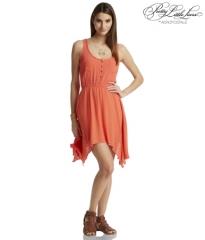 PLL Spencers orange dress at Aeropostale