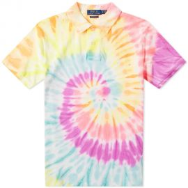 POLO RALPH LAUREN TIE DYED POLO at End Clothing