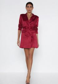 POWERS THAT BE BLAZER DRESS at Nasty Gal