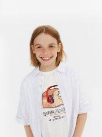 PRINTED T-SHIRT at Zara