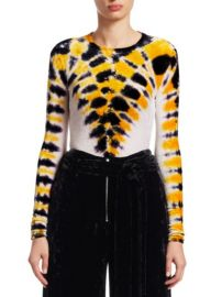 PROENZA SCHOULER - VEVET TIE-DYE TEE at Saks Fifth Avenue