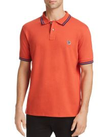 PS PAUL SMITH STRIPE-TRIMMED ZEBRA POLO SHIRT at Bloomingdales
