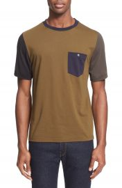 PS Paul Smith Colorblock Pocket T-Shirt at Nordstrom
