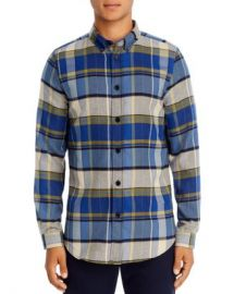 PS Paul Smith Plaid Flannel Regular Fit Button-Down Shirt Men - Bloomingdale s at Bloomingdales