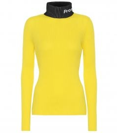 PSWL cotton turtleneck sweater at Mytheresa
