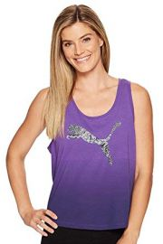 PUMA Womens Cotton Ombre Tank at Amazon