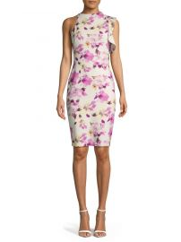 Pabla Floral-Printed Dress by Black Halo at Lord & Taylor
