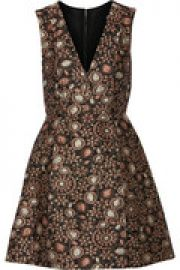 Pacey metallic brocade mini dress at The Outnet