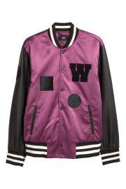 Padded Baseball Jacket at H&M