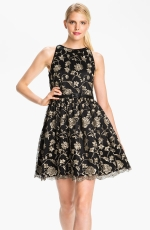 Padmas gold embroidered dress at Nordstrom