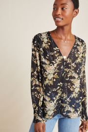 Paige Calliope Blouse at Anthropologie