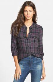 Paige Denim  Mya  Plaid Shirt at Nordstrom