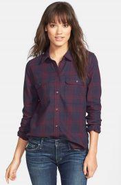 Paige Denim  Trudy  Plaid Cotton Shirt at Nordstrom